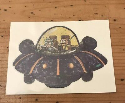 2018 Cryptozoic RICK & MORTY S1 Retail Exclusive Tattoo T8 Spaceship