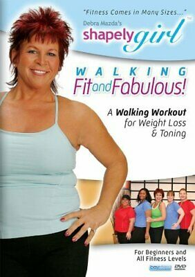 Shapely Girl: Walking Fit and Fabulous (DVD, 2010) New, by Debra Mazda