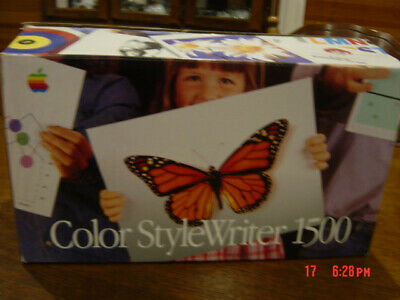 Apple Color Stylewriter 1500 (Mac/pc) - Collectors Item - (Used)