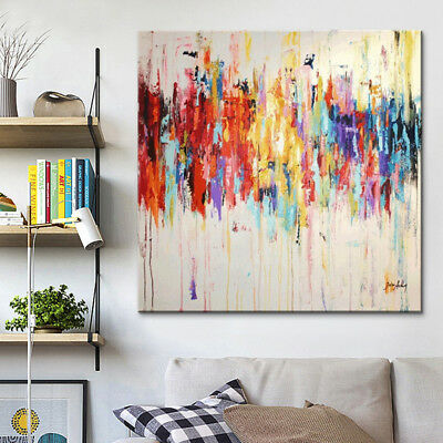 Canvas painting acrylic painting Wall art Picture for home decor abstract color7