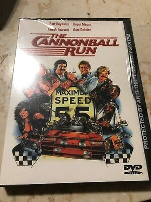 The Cannonball Run Dvd New Sealed Fast Ship