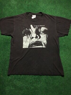 Vintage 1998 My Bloody Valentine Feed Me Tee T Shirt Shoegaze  Oasis Sonic Youth