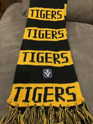 Pre AFL, VINTAGE VFL Richmond Tigers scarf, collectable, valuable.