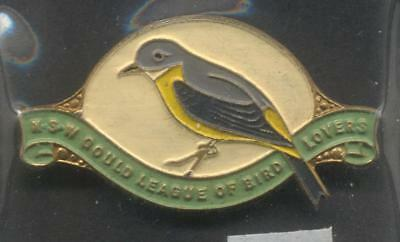 NSW Gould League Of Bird Lovers 1949 Members Badge