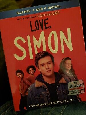 Love, Simon (Blu-Ray + DVD + Digital) 2018 w/SlipCover NEW! SEALED! (Free USPS)