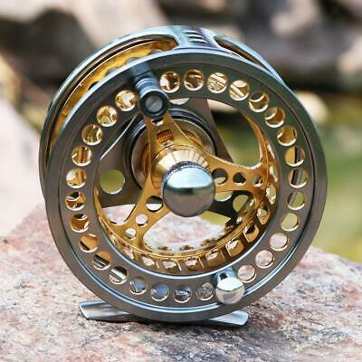 Fly Fishing Reel Large Arbor 2+1 BB CNC Machined Aluminum Alloy Spoon