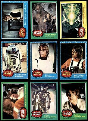1977 Topps Star Wars Almost Complete Set EX+