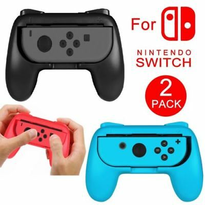 2Pack For Nintendo Switch Joy-Con Grips Kit Controller Handle Handheld Holder