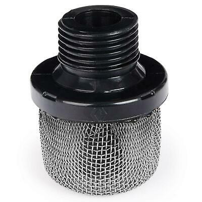 Pump Inlet Strainer Filter Airless Paint Sprayer Prevent Tip Clog Smooth Finish