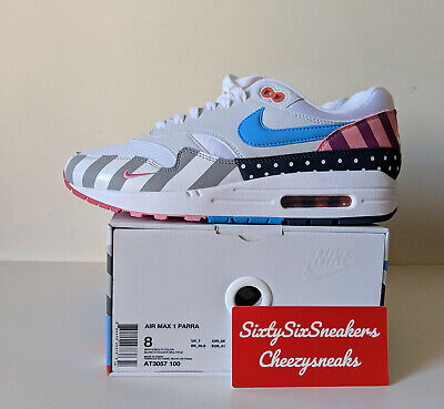 low priced 3b64c 72a25 Nike Air Max 1 Parra 2018 US8 UK7 EU41 New DS OG ALL
