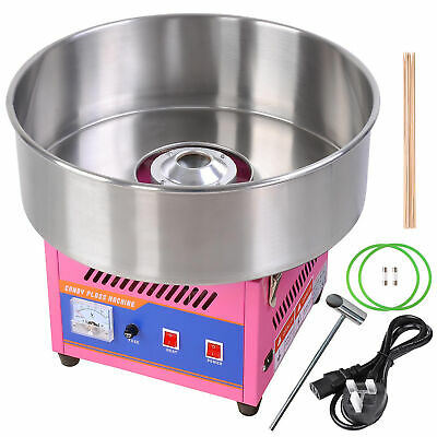 Commercial Large Electric Candy Floss Machine Cotton Sugar Maker Party Carnival