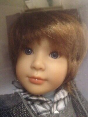Puppe Kidz n Cats Alister in OVP boy doll no cat