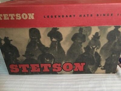 STETSON 5X USA Made Cowboy Hat 4