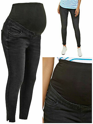 MATERNITY NEW LOOK Over Bump Jeans Black Jenna Skinny Fit