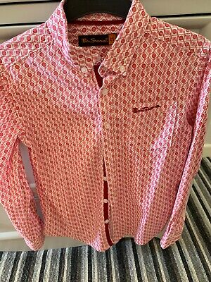Boys Ben Sherman shirt age 8-9 years- great condition