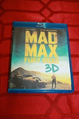 Mad Max - Fury Road - (Dvd) - New - Open Package - New Bluray Case-Slipcover!!
