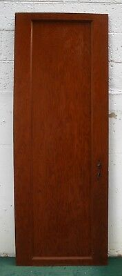 "24""x66"" Antique Vintage Wood Wooden Interior Cabinet Pantry Closet Door 1 Panel"