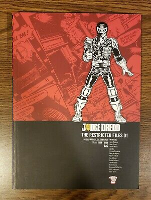 JUDGE DREDD: THE RESTRICTED FILES VOL 1 TPB 2000 AD Rebellion Case