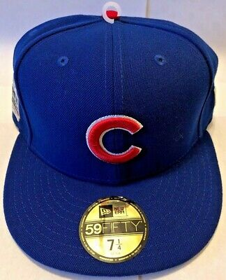 c26dfc315dd NEW ERA 59 Fifty - Chicago Cubs - NEW 7 1 4 Fitted Hat - 2016 World ...