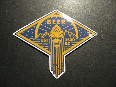 Papieren reclame Verzamelingen BREWDOG BREW DOG blue green logo Hardcore Punk STICKER DECAL craft beer brewery