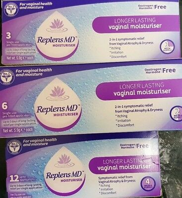 Replens MD moisturuser for vaginal health and moisture