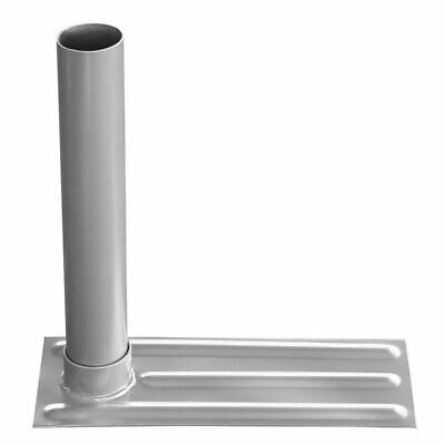 20FT/25FT Flagpole 61mm Metal Flag Pole Stand Tire Mount Tailgate Wheel Holder