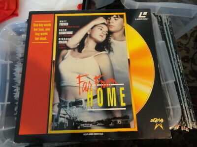 'Far From Home' 1990 Dutch Edition Laser Disc -PAL-
