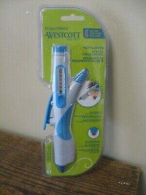 New! Westcott Premium Hot Glue Pen (16761) PEN STYLE GRIP