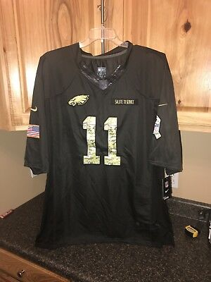 the latest 31d8d 7b383 NIKE CARSON WENTZ SALUTE TO SERVICE JERSEY Size 3XL NWT