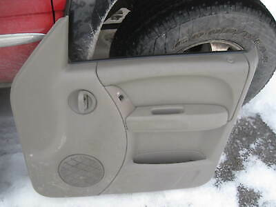 02-07 Jeep Liberty Passenger/'s Side Rear Lower Door Skin