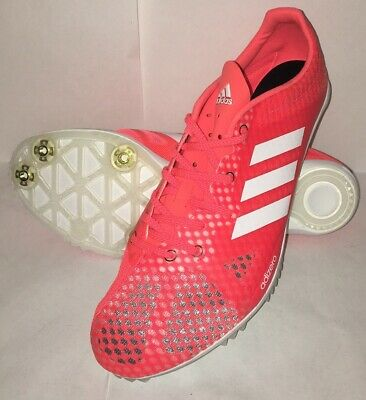 adidas y3, adidas ADIZERO AMBITION 3 Spikes whitesolar red
