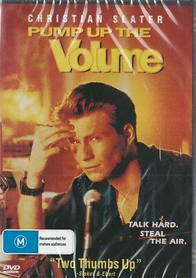 Pump Up The Volume - Christian Slater - New & Sealed Dvd