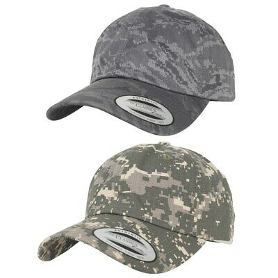 Yupoong Low Profile Destroyed Cap Used Dad Curved Kappe Cotton Twill Strap Hat