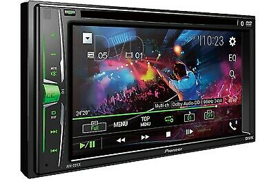 Pioneer - MVH-210EX - Double DIN Bluetooth in-Dash Digital Media Car Receiver