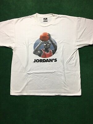 892b026ccb800d Michael Jordan Vintage Nike  45 Mens XL 2 Sided T Shirt Jordan s Back