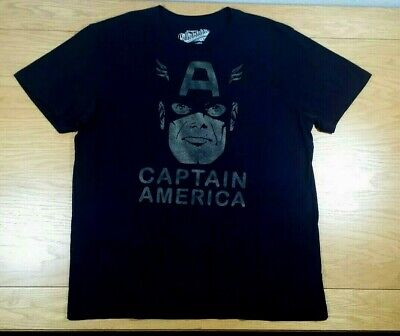 Captain America Marvel Comics Old Navy Superhero Soft Blend T Shirt