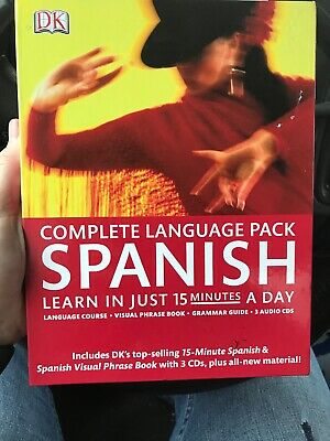 Complete Spanish Pack: Learn in Just 15 Minutes a Day [Complete Language Pack]
