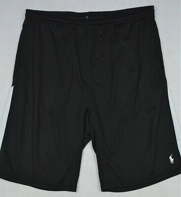 Polo Ralph Lauren Short Performance Athletic Stretch Black LT Large Tall NWT