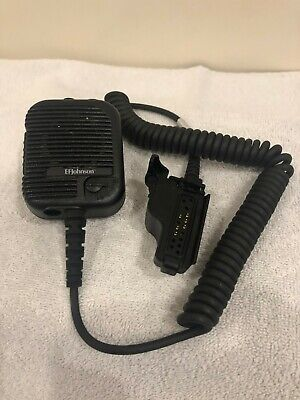 589-0015-056 Johnson EF Public Safety Microphone Immersion Capable