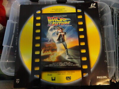 'Back to The future' 1991 Dutch Edition Laser Disc -PAL-