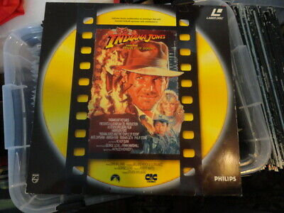 'Indiana Jones And The Temple Of Doom' 1991 Dutch Edition Laser Disc -PAL-