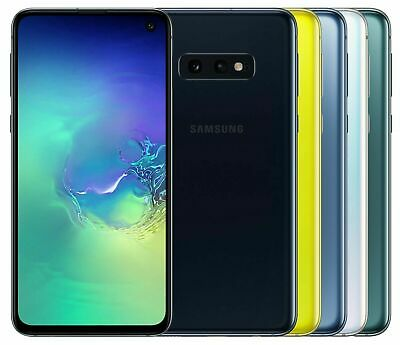 SAMSUNG GALAXY S10e 128GB G970F DS BLACK/GREEN/WHITE/YELLOW FACTORY UNLOCKED