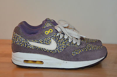 NIKE AIR MAX 1 Sneaker Limited Edition Liberty London Pixel