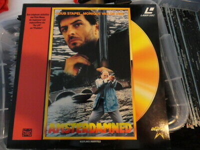 'Amsterdamned' 1990 Dutch Edition Laser Disc -PAL-