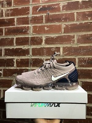 5bbc8bf877d74 NIKE AIR VAPORMAX Flyknit 2 II Gunsmoke Pink Blue Men Running Shoes ...
