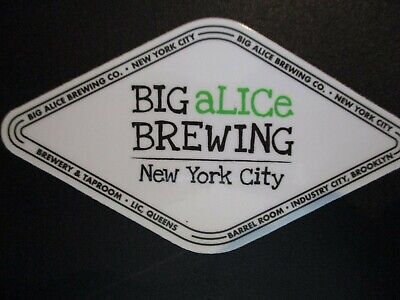 LIC BEER PROJECT Queens New York STICKER decal craft beer brewery brewing