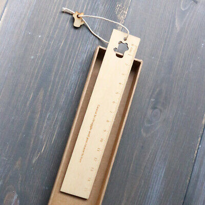 20 PCS Pack Wood Ruler for School //Office //Student Wooden Measuring Ruler V7P7