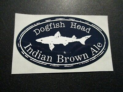 DOGFISH HEAD BREWERY Unused SET OF FIVE LABELS New craft beer dog fish