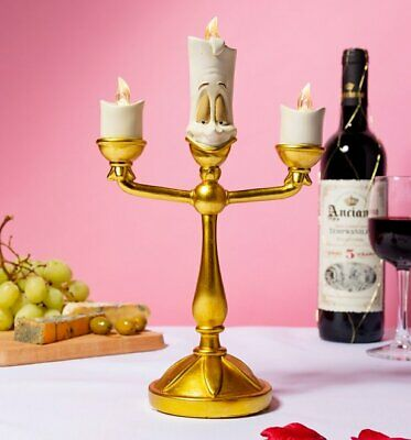 Official Disney Beauty And The Beast Lumiere Light up Candelabra
