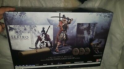 Sekiro Shadows Die Twice Collector's Edition Playstation 4/Ps4 Game New In Hand+